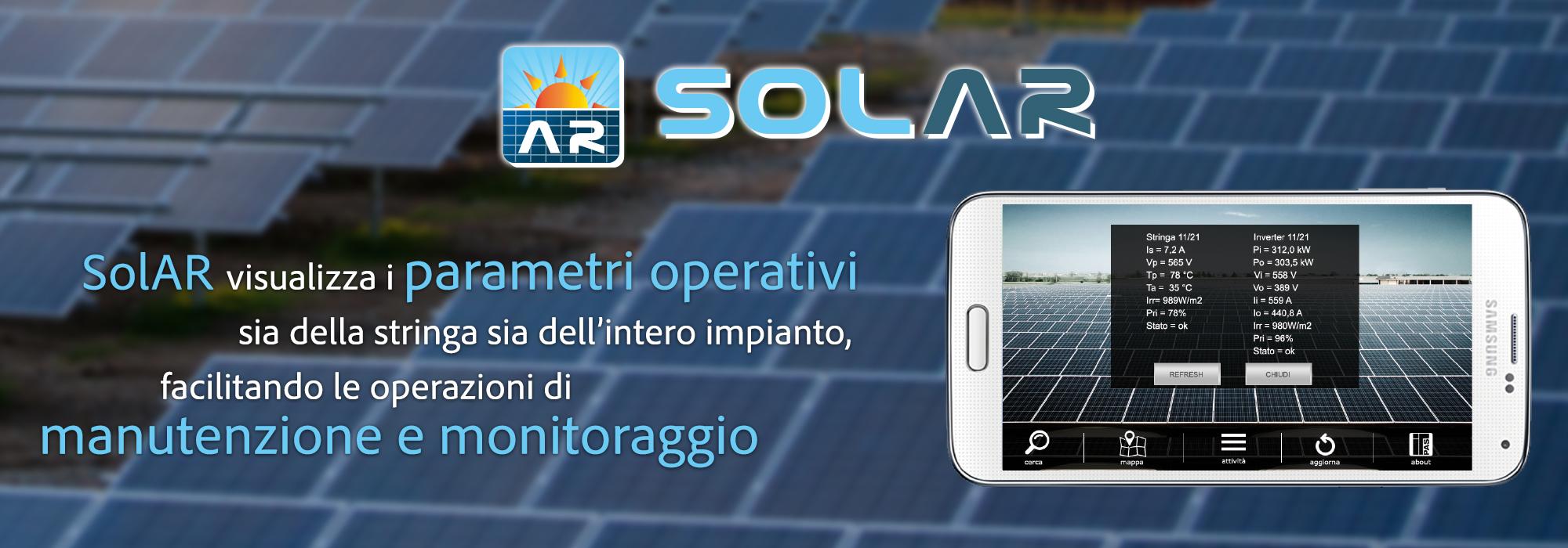 realtà aumentata impianti fotovoltaici